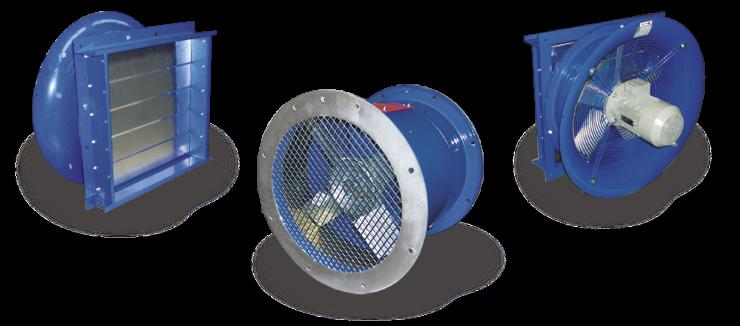 Ventilatori Industriali Assiali Elicoidali - Accessori