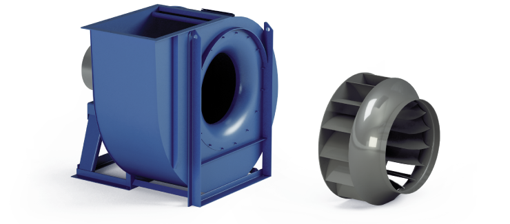 Ventilatori Industriali Centrifughi - Bassa Pressione - Serie RL
