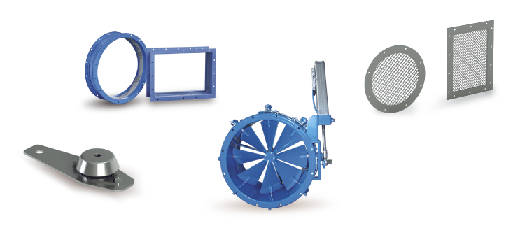 Ventilatori Industriali Centrifughi - Accessori