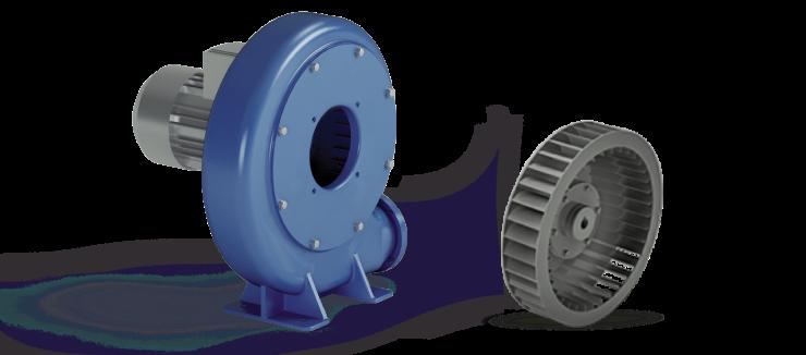 Ventilatori Industriali Centrifughi - Fusioni - Serie S/C