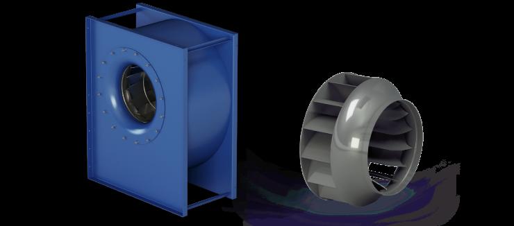 Ventilatori Industriali Centrifughi - Bassa Pressione - Serie RLQ