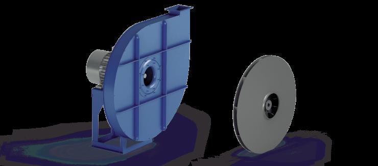 Ventilatori Industriali Centrifughi - Alta Pressione Negativi - Serie VC/N