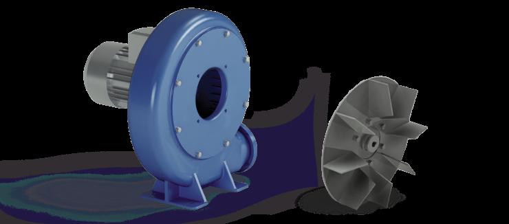 Ventilatori Industriali Centrifughi - Fusioni - Serie S/A
